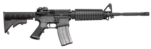 "S&W M&P-15A 556NATO RIFLE 16"" FLAT"