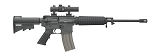 Bushmaster Carbon 15 ORC with Red Dot Sight