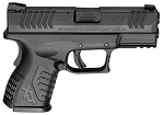 "Springfield XDM 9MM 3.8"" Compact BLK 19RD"