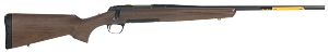 "Browning X-Bolt Hunter 308 Win,7.62 NATO 4+1 22"" Satin Black Walnut Fixed Checkered Stock Matte Blued Right Hand"