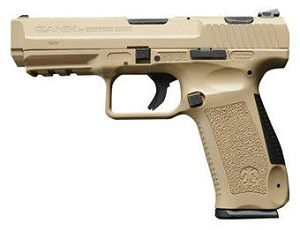 "CIA TP9SA SA 9mm 4.5"" 18+1 Interchangeable Palmswell FDE"