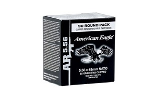 Federal XM193 5.56 55 Gr 450 rounds