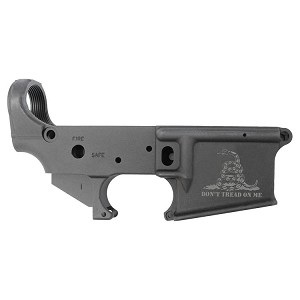 Stag Arms Gadsden Flag Forged Aluminum Stripped Lower Receiver