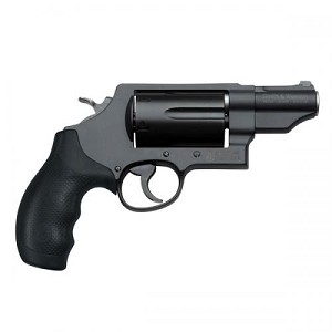 "Smith & Wesson 162410 Governor Single/Double 45 Colt (LC)/45Automatic Colt Pistol (ACP)/410 2.8"" Barrel, 6 Round, Black Synthetic Black"