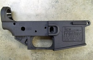 New Frontier Armory Polymer AR15 Stripped Lower receiver