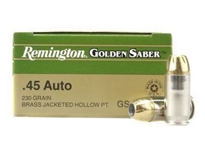 Remington Golden Saber 45 ACP 230 Gr