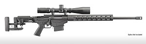 Ruger Precision Rifle Bolt Action 6.5 Creedmoor, Muzzle Brake, Adjustable Folding Stock