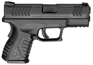 "Springfield XDM 9MM 3.8"" Compact BLK 19RD Essentials Package"