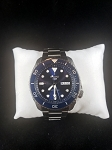 Seiko 5 Sports 24-Jewel Automatic Watch with Blue Dial and SS Bracelet SRPD51