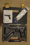 CZ  P-09 9mm Full Size 19+1 rd Capacity  Black