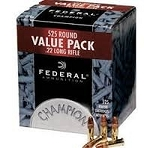 Federal 22LR 36gr Jacketed Hollow Point 525 Round Box