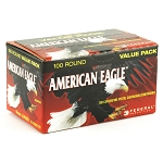 Federal AE9DP100 American Eagle 9mm Luger 115 gr Full Metal Jacket (FMJ) 100 Bx