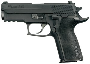 Sig Sauer P229 9mm Enhanced Elite SRT Trigger, Ergo Grip, Beavertail
