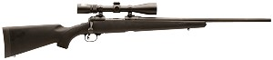 "Savage 19710 Youth Trophy Hunter XP Bolt 308 Win 20"" Nikon Scope Synthetic Stock"