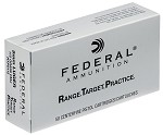 1,000 Round Case of Federal Range and Target 9mm 115gr 50/Box 20 Boxes/Case
