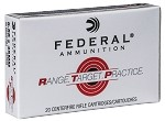 Federal RTP556 Range and Target 223 Rem 55 gr Full Metal Jacket (FMJ) Case of 500