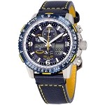 Citizen Eco-Drive A-T Blue Angel Skyhawk Mens Chronograph Watch JY8078-01L